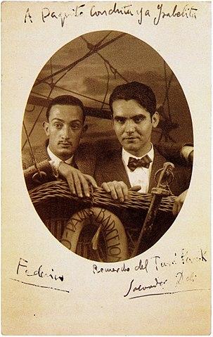 Federico-García-Lorca-y-Salvador-Dalí